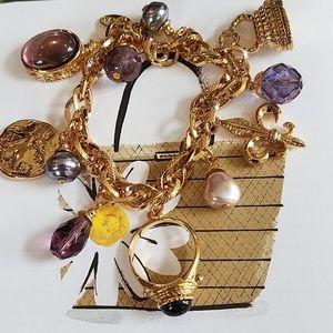 Karina Baci Bracelet NWOT